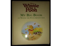 my big book of winnie the pooh adventures very good condition