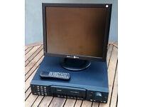 CONCEPT PRO VXH264/8 - 8 CHANNEL DVR CCTV CAMERA RECORDER - 1TB HARD DRIVE