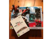 Disney Infinity Wii plus extra figures - reduced from £20
