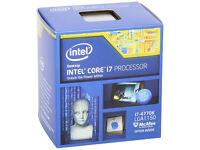 intel i7 4770k Processor Wanted