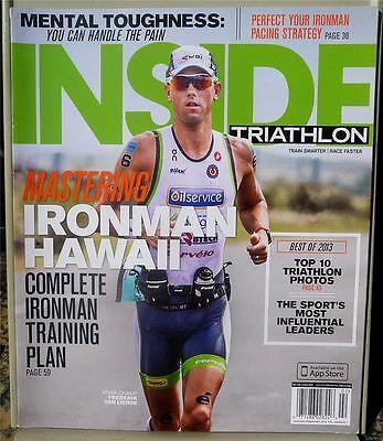 Inside Triathlon Magazine Jan/Feb 2014 - Best Of 2013 - Ironman Training