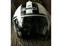CABERG open face lid with inner sun visor