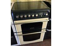 CANNON 60cm Black Cream electric cooker