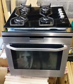 AEG B8871 4 M fan oven and gas hob