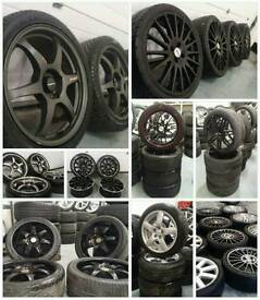 Alloy wheels bought for cash! Same day collection! Cash paid!