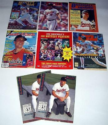 Lot of (8) Sports Magazines Back Issues: Beckett, Sports Illustrated, more . . .