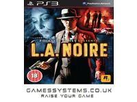 Get LA Noire on PS3 Pre-owned for just £1.50!