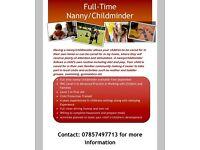 Nanny/childminder, Kilkeel, Newcastle, Castlewellan, Warrenpoint, Rathfriland