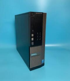 Dell i3 VeryFast 8GB 500GB SSHD Pc Desktop Tower, Win 10, Microsoft office,Excellent Condition