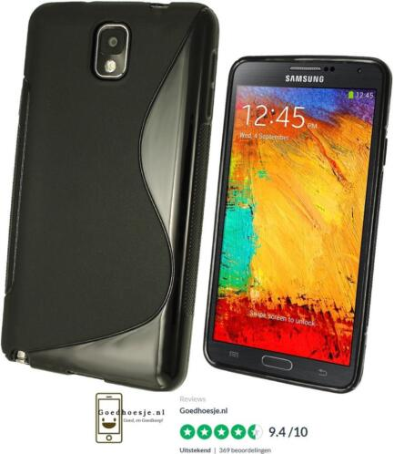 Samsung Galaxy Note 3, 4 S-Line TPU Hoesje Transparant Kleur