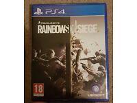 rainbow six siege playstation 4 game