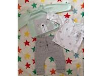 Mothercare cute outfit 0-3 months