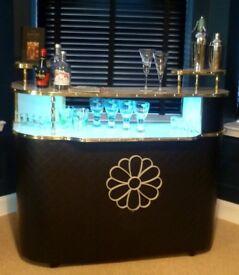 Vintage Cocktail Bar, Del Boy Style, Refurbished to high standard