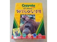 NEW Crayola all about ... WILDLIFE Activity Set