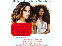 Hair Extensions Services affordable prices.