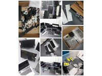 Pallet of laptop, all-in-one pc parts, HDDs, laptops, keyboards - untested spares and repairs.