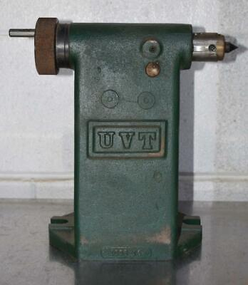 Uvt Universal Tailstock For Rotary Tabledividing Head 1008-15 Nice
