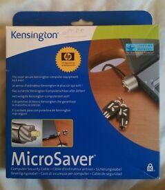 Kensington Mircrosaver computer security cable
