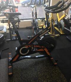 BH Fitness Duke Spin Bike with magnetic resistance. Very sought after bike and have 2