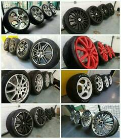 Alloy wheels bought for cash! Same day collection!