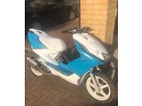 Yamaha aerox 70cc reg as 50cc moped scooter vespa honda piaggio gilera peugeot