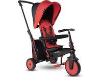 SMARTRIKE Smartfold 300+ 6 in 1 Folding trike - red