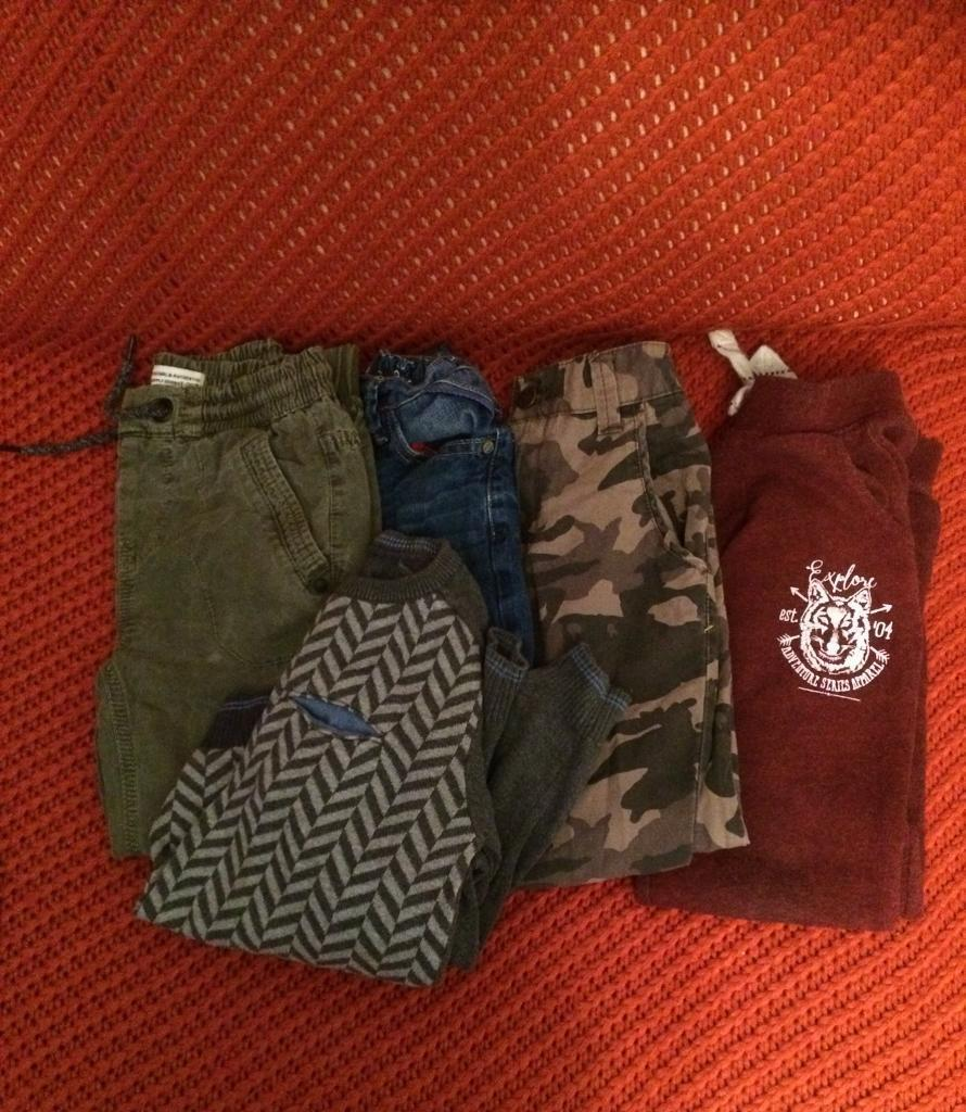 Boys clothes bundle aged 6 mostly next items