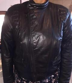 Mens Leather bike jacket x 2