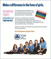 Girl Guide LEADERS needed in Millbrook