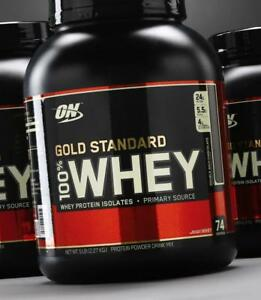 OPTIMUM NUTRITION ON WHEY GOLD STANDARD, VANILLE, 5LBS