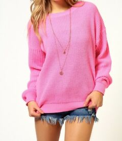 Woman's boohoo knit jumper