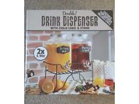 Brand New- Double Drinks Dispenser