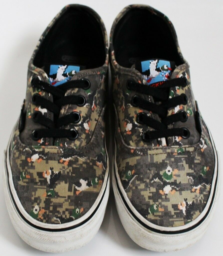 4736b86472 Men s Size 4.5 Vans Trainers - Nintendo Duck Hunt Print  Limited Edition