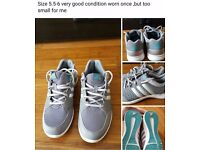 Trainers size 5.5-6