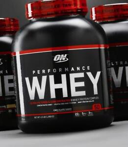 OPTIMUM NUTRITION ON 100% Performance Whey Proteine Powder, 50 SERVINGS / 50 PORTIONS