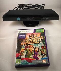 Xbox 360 Kinect with Sensor Bar & 4 games