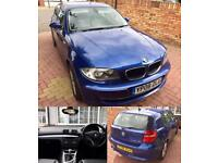 BMW 1 Series, 120D SE, 2.0 Diesel, 180BHP, HEATED LEATHER, PARKING SENSORS, 2008, 1 PREVIOUS OWNER!