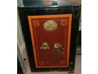 Vintage T Withers Cast Iron Safe