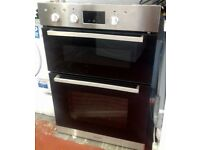 INDESIT Aria IDD 6340 IX Electric Double Oven - New, ex display