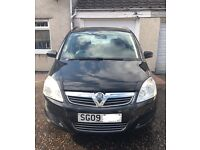 Vauxhall zafira fitted with LPG transmission