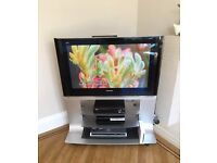 "Immaculate condition Panasonic Viera TH-37PV500B 37"" 1080p HD Plasma TV & Stand - Cost £2000+ new"