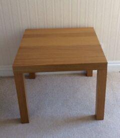 IKEA OAK COFFEE TABLE