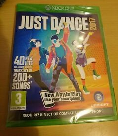 New never been opened Just Dance 2017 for XBox One