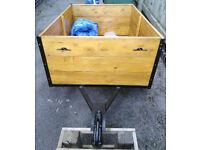 4 x 3 wooden car trailer