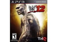 PS3 WWE2K12 Game