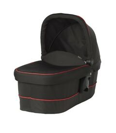 graco xt carrycot black/red new
