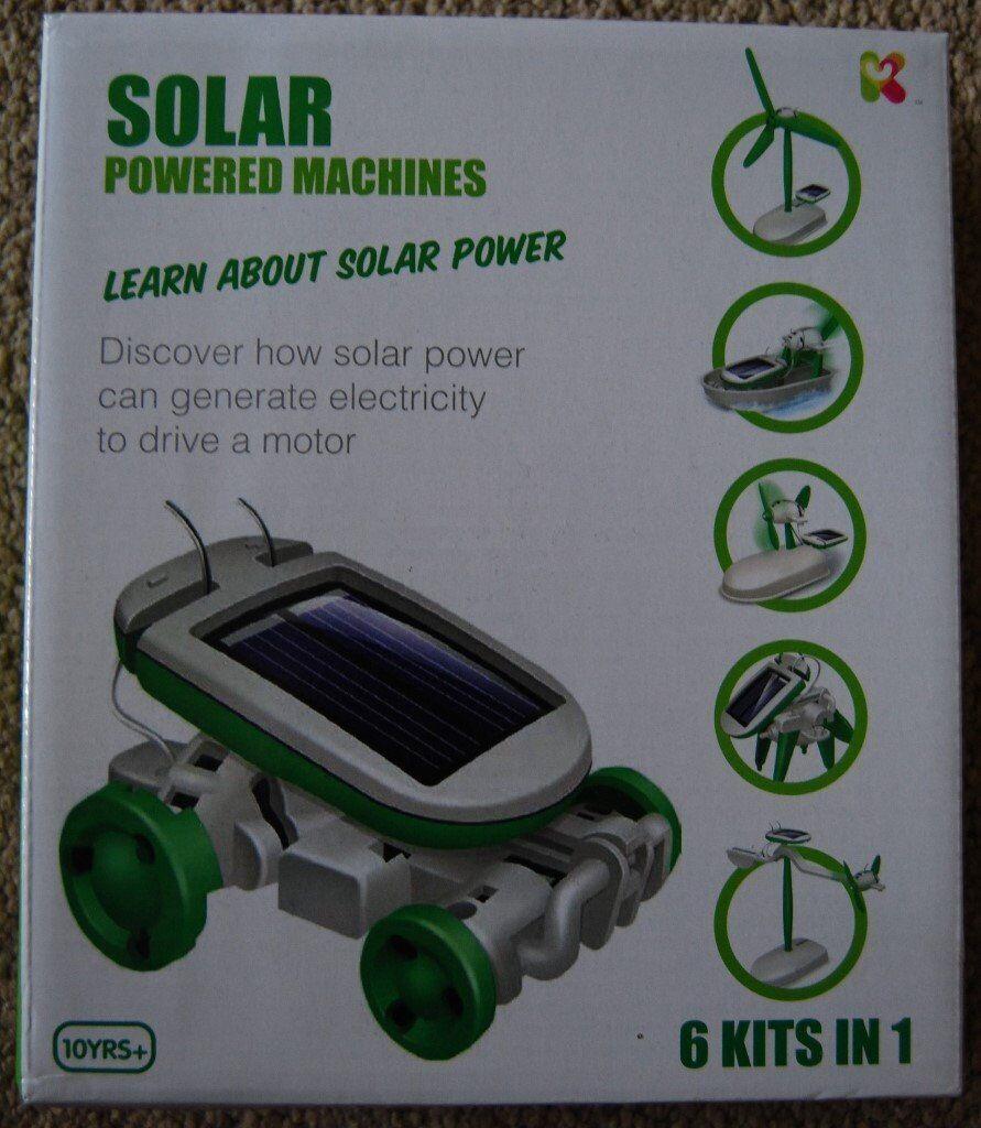 2 x UNUSED SCIENCE KITS - Solar Power Machines & SpiderRobot