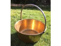 Vintage jam / jelly preserve pan