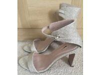 Brand new glitter sandals from NEXT