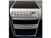 White Cannon 60cm Ceramic Cooker - 12 Months Warranty - £190